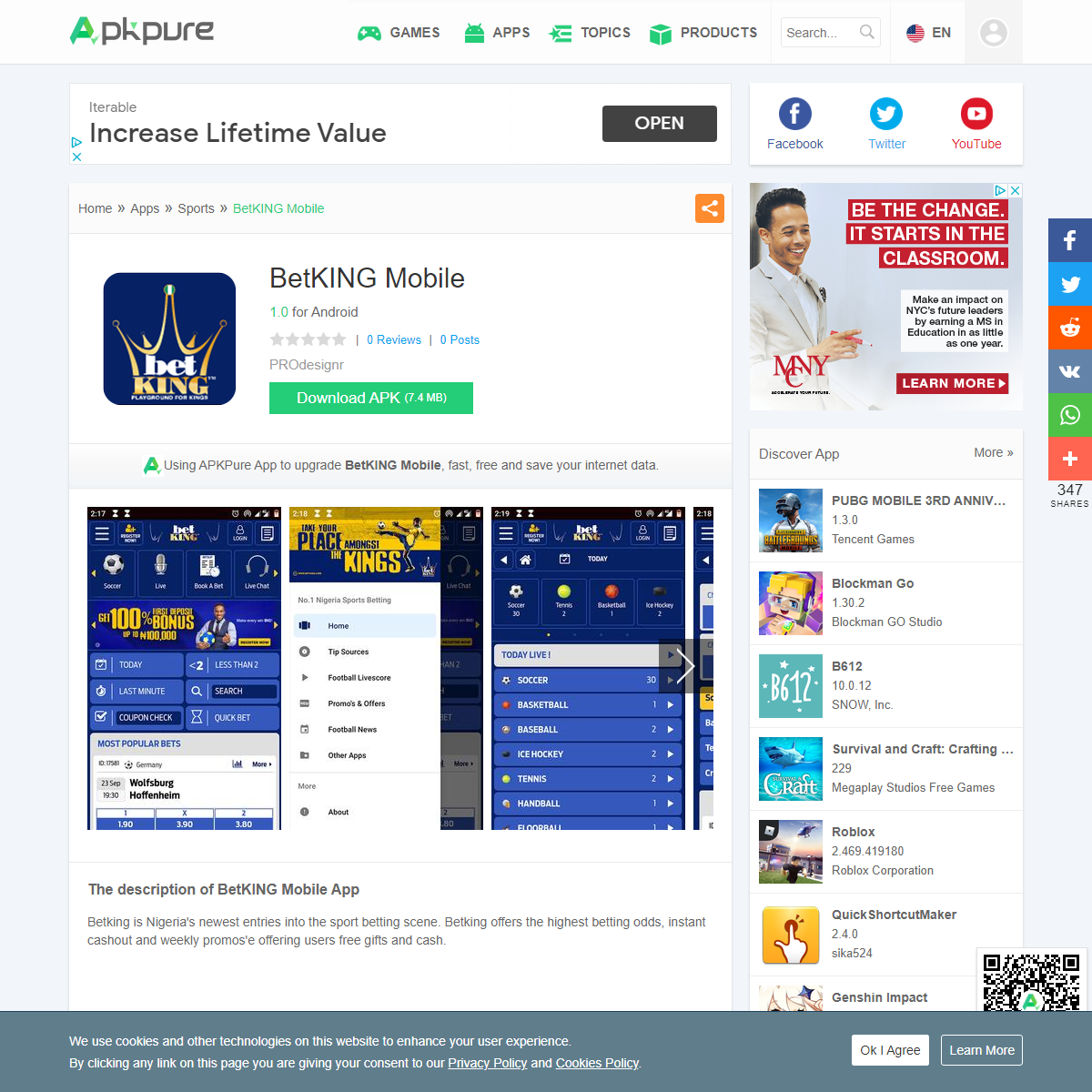BetKING Mobile for Android - APK Download