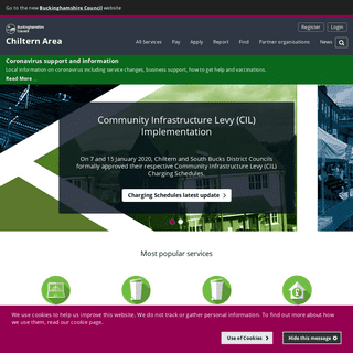 Buckinghamshire Council – Chiltern Area - Chiltern Home Page