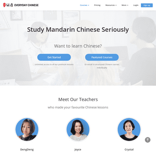 Everyday Chinese - Learn Mandarin Chinese Every Day
