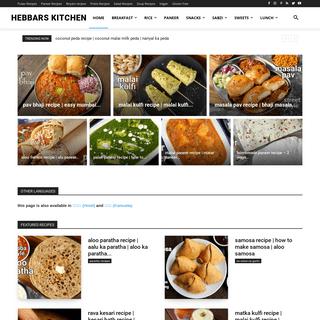 Hebbars Kitchen - Indian Veg Recipes - Vegetarian Indian Recipes blog