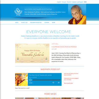New Kadampa Tradition – International Kadampa Buddhist Union