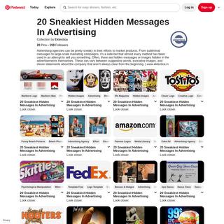 19 20 Sneakiest Hidden Messages In Advertising ideas - hidden messages, subliminal, messages