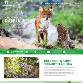 Ranuan eläinpuisto - kohtaa villi arktinen luonto - RanuaZoo