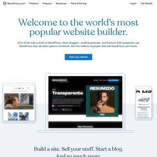 WordPress.com- Create a Free Website or Blog