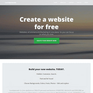 Create a website for free - Lucialpiazzale