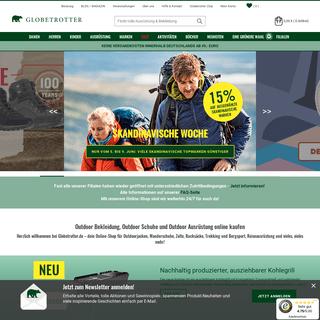 Outdoor-Ausrüstung online kaufen - Globetrotter.de