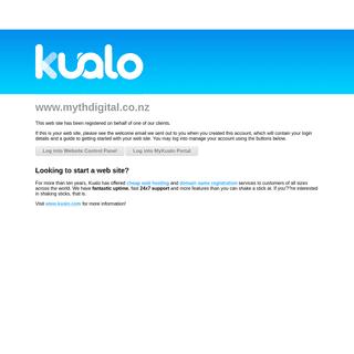 Kualo Web Hosting - mythdigital.co.nz