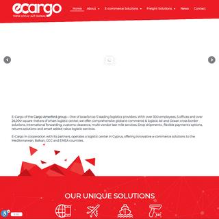 ecargo – Think Local