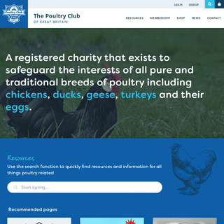 Home ‐ The Poultry Club of Great Britain