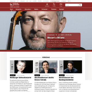 hr-sinfonieorchester.de - hr-sinfonieorchester