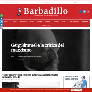 Barbadillo - Laboratorio di idee nel mare del web