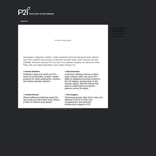 Print Conversion - P2i - From Print To The Internet