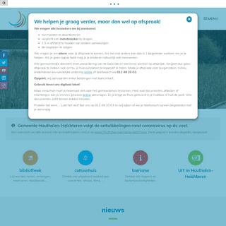 Startpagina - Gemeente Houthalen-Helchteren