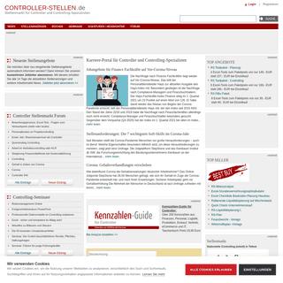 Controller-Stellen.de - Karriereportal für Controller