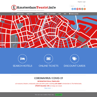AmsterdamTourist.info - Visitor & Tourist information