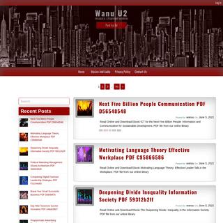 Wanu U2 – musics channel online