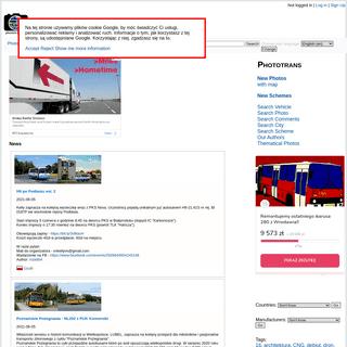 Transport Database and Photogallery - Phototrans.eu