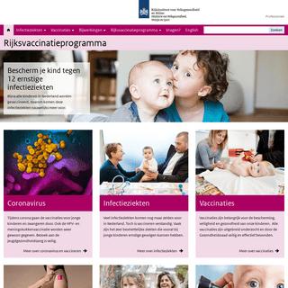 Rijksvaccinatieprogramma - Rijksvaccinatieprogramma.nl
