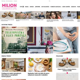 MilionKobiet.pl - Serwis dla nowoczesnej kobiety