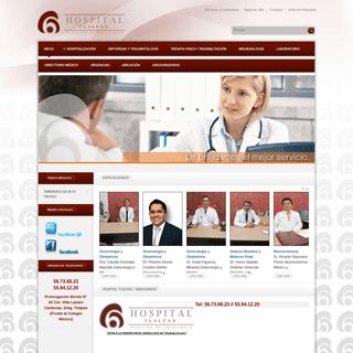 Hospital Tlalpan -- Medicina de Excelencia