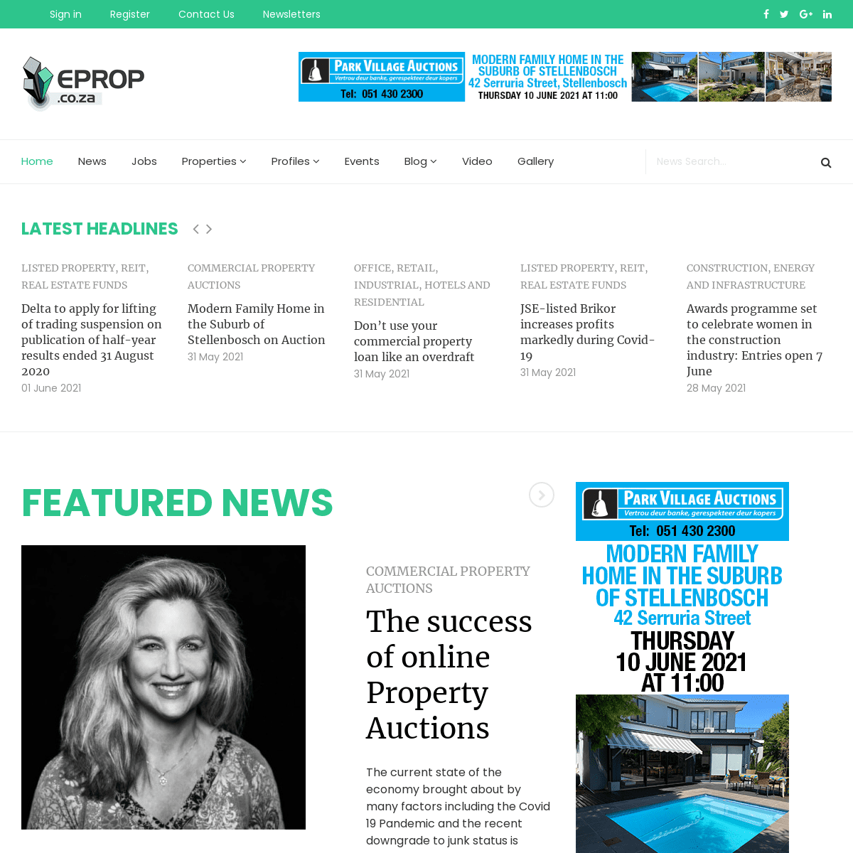 eProp Commercial Property News Home Page - eProperty News