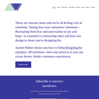 Aarron Walter - Designing for Emotion