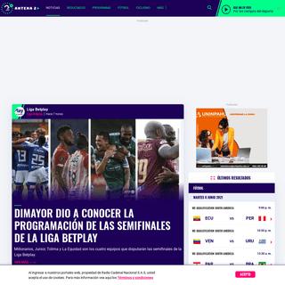 Deportes de Colombia y el Mundo - Antena 2