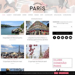 Conexão Paris- as melhores dicas de Paris e França