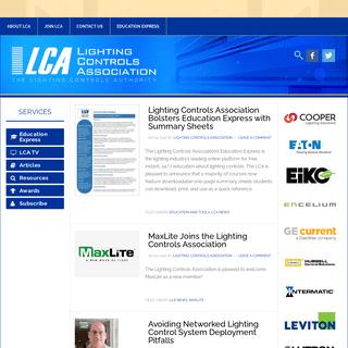 Lighting Controls Association – The Lighting Controls Authority