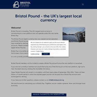 Bristol Pound – More than money