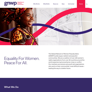 Home – GNWP