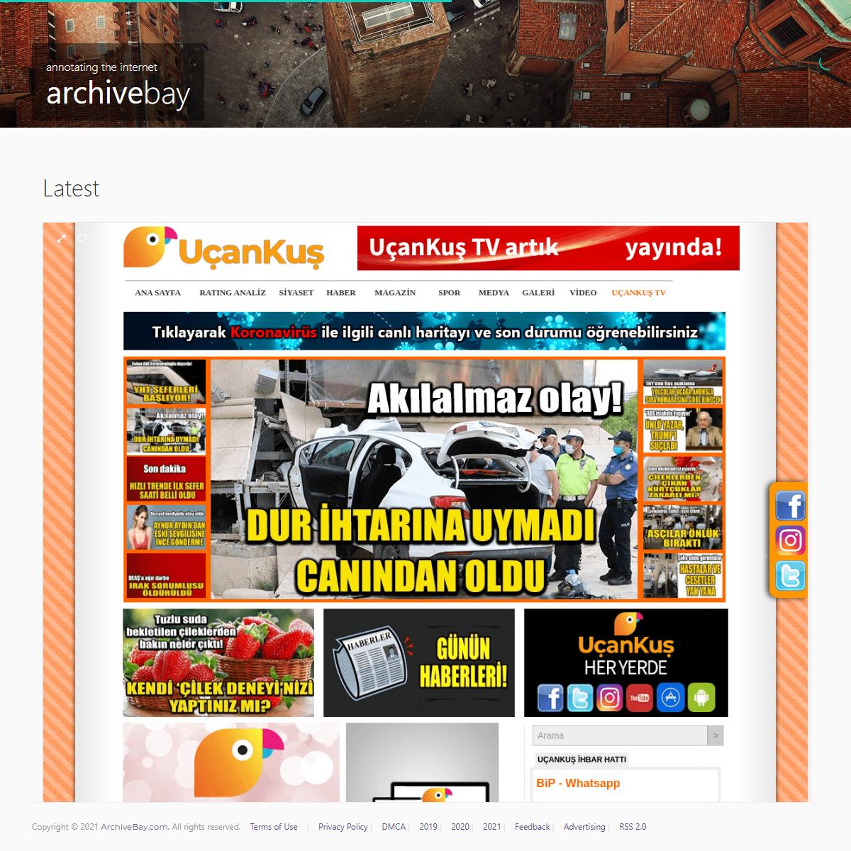 Uçankuş - Magazin Haberleri ve Magazinde Son Dakika