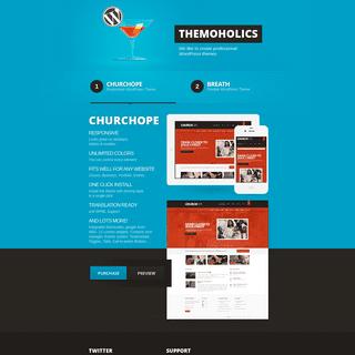 Premium WordPress Themes - Themoholics