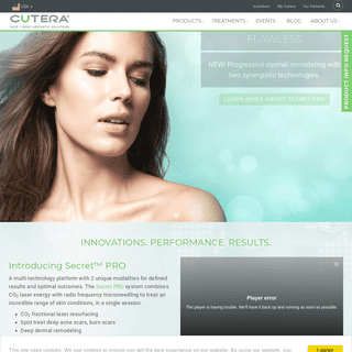 World-Class Aesthetic, Cosmetic and Medical Laser Equipment - CUTERA