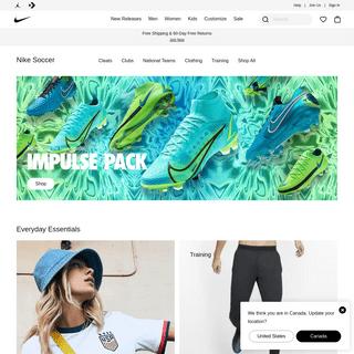 Nike Soccer. Nike.com