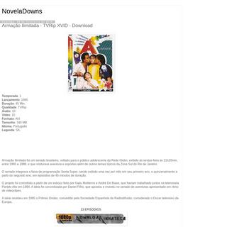 NovelaDowns- Armação Ilimitada - TVRip XVID - Download