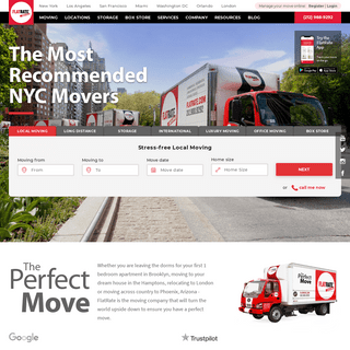 Top NYC Moving Company - FlatRate Moving- NYC Movers