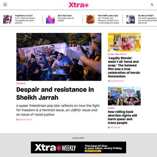 Xtra Magazine - Queering the conversation