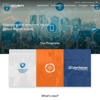 National Cyber Security Alliance- Homepage
