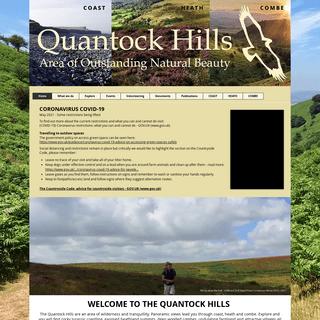Quantock Hills Area of Outstanding Natural Beauty, Broomfield, Somerset