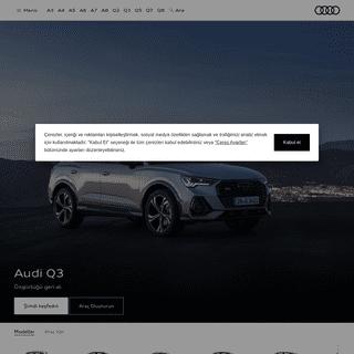 Audi Türkiye - Premium Otomobil Deneyimi