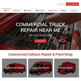 Truck Repair Shop Orange County - Truck Repair Shop Near Me