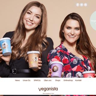 Veganista Ice Cream - veganes Eis - Wien
