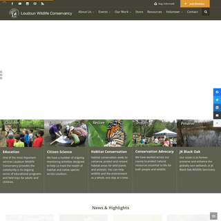 Loudoun Wildlife Conservancy - Discover, Explore, Restore, Protect