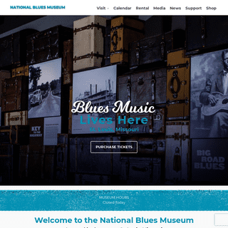 Homepage - National Blues Museum - St. Louis, MO