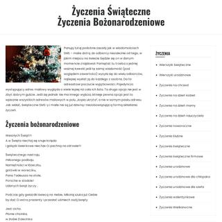 Życzenia świąteczne - Zyczenia-Swiateczne.com