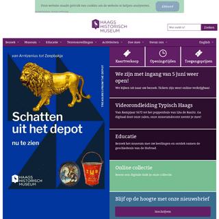 Ontdek de geschiedenis van Den Haag - Haags Historisch Museum