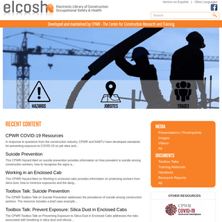 eLCOSH - Electronic Library of Construction Occupational Safety and Health