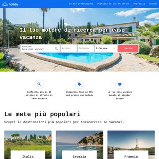 Holidu - Affittare case ed appartamenti per vacanze ad un prezzo conveniente