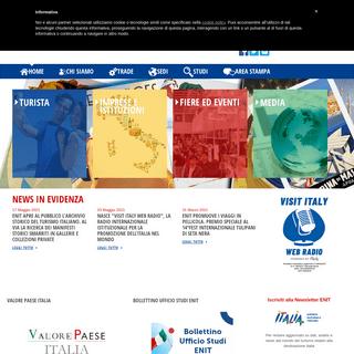 Home - ENIT - Agenzia Nazionale del Turismo